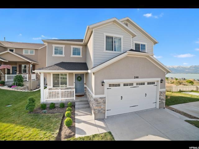 246 Rocky Creek Way, Saratoga Springs, UT 84045 (#1617149) :: goBE Realty