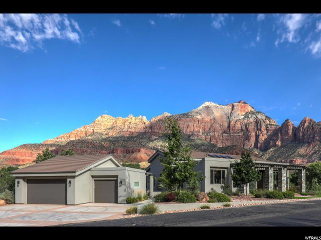 1215 N Canyon Springs Dr E, Springdale, UT 84767 (#1617277) :: Doxey Real Estate Group