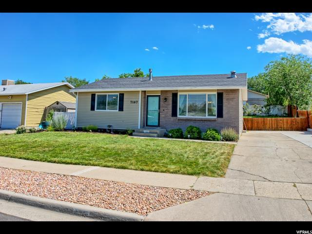 7167 W Cimmarron Dr S, West Valley City, UT 84128 (#1617313) :: Red Sign Team