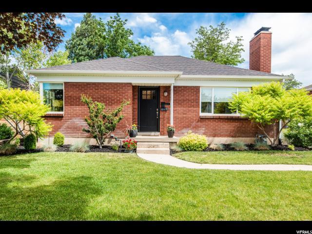 1809 E Blaine Ave, Salt Lake City, UT 84108 (#1617448) :: Doxey Real Estate Group