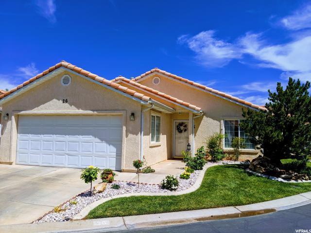 1360 E Telegraph #26, Washington, UT 84780 (#1617471) :: Doxey Real Estate Group