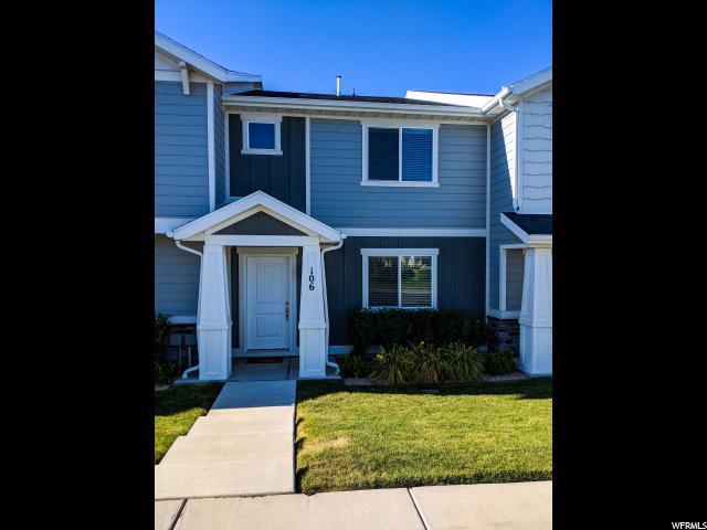 106 E Legacy Pkwy, Saratoga Springs, UT 84045 (#1617685) :: Big Key Real Estate