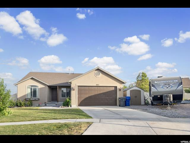 885 W Burro Way N, Saratoga Springs, UT 84045 (#1617732) :: Red Sign Team