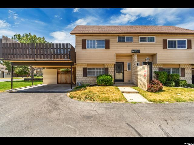 1874 W Homestead Farms S #1, West Valley City, UT 84119 (#1617990) :: Big Key Real Estate