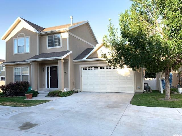 6783 W Bottlebrush Ln S, West Jordan, UT 84081 (#1618221) :: Exit Realty Success