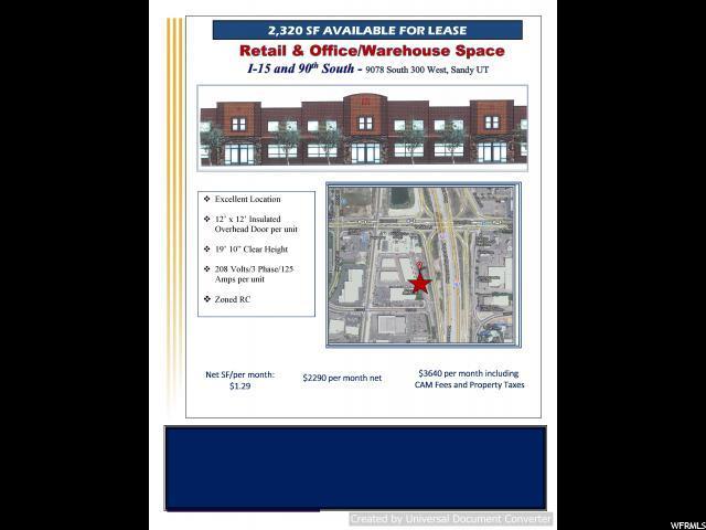 1 9078 S 300 W, Sandy, UT 84090 (MLS #1618358) :: Lawson Real Estate Team - Engel & Völkers