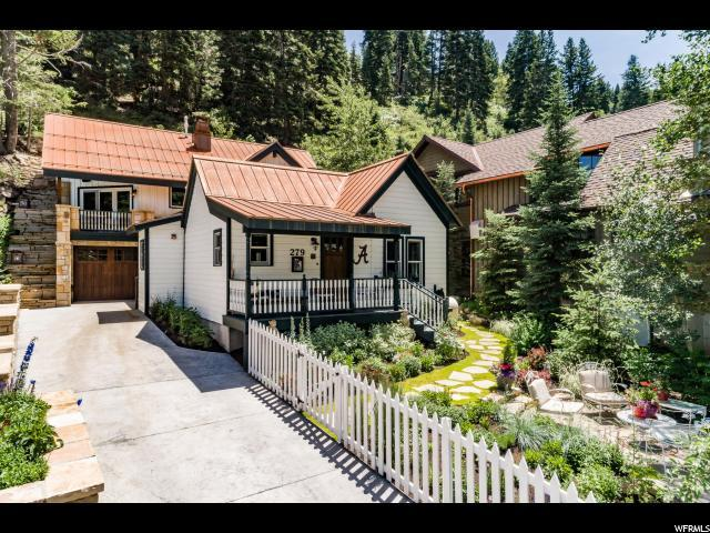 279 Daly Ave, Park City, UT 84060 (#1618514) :: Red Sign Team