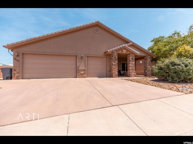 1605 S Amity Ln, Washington, UT 84780 (#1618817) :: Colemere Realty Associates