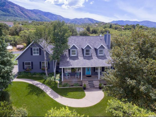 301 S Maple Dr, Woodland Hills, UT 84653 (#1619444) :: Powder Mountain Realty