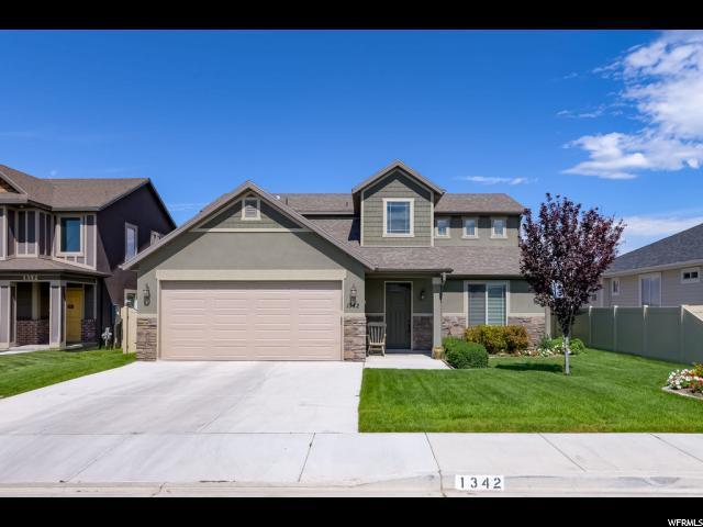1342 S Grey Goose Rd, Lehi, UT 84043 (#1619925) :: Exit Realty Success