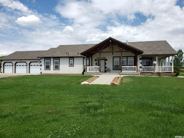 11193 N 1620 W, Neola, UT 84053 (#1620194) :: The Canovo Group