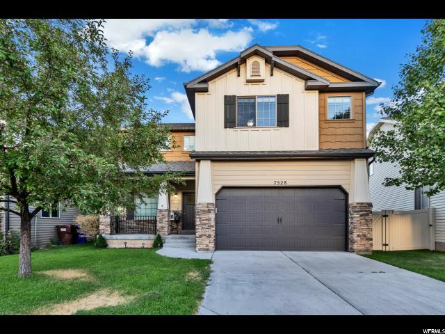 7528 N Levi Ln W, Eagle Mountain, UT 84005 (#1620328) :: Exit Realty Success