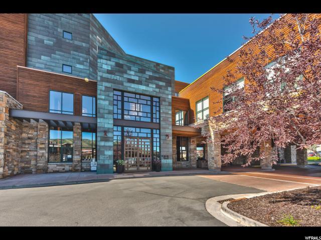 1476 Newpark Blvd #305, Park City, UT 84098 (MLS #1620450) :: High Country Properties