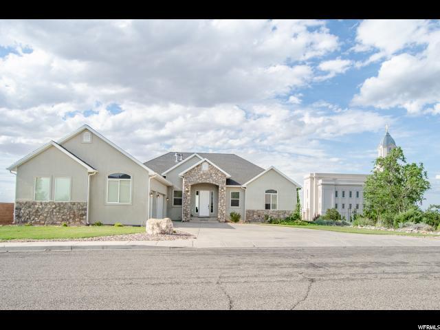 2492 W Carmel Canyon Dr, Cedar City, UT 84720 (#1620516) :: Big Key Real Estate
