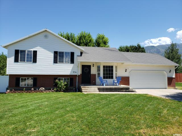 724 N 240 W, Santaquin, UT 84655 (#1620825) :: Red Sign Team