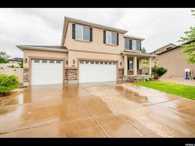 428 W Indian Summer Dr, Saratoga Springs, UT 84045 (#1620876) :: Red Sign Team