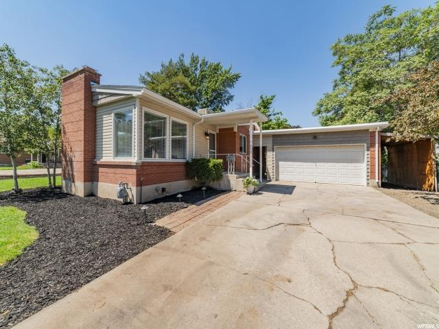 7050 S 2780 E, Cottonwood Heights, UT 84121 (#1621123) :: Exit Realty Success