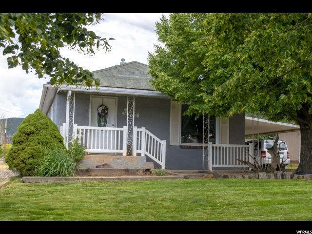 156 N 200 EAST, Parowan, UT 84761 (#1621163) :: Doxey Real Estate Group