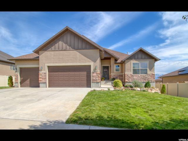 246 W Fox Hollow Dr S, Saratoga Springs, UT 84045 (#1621286) :: Exit Realty Success