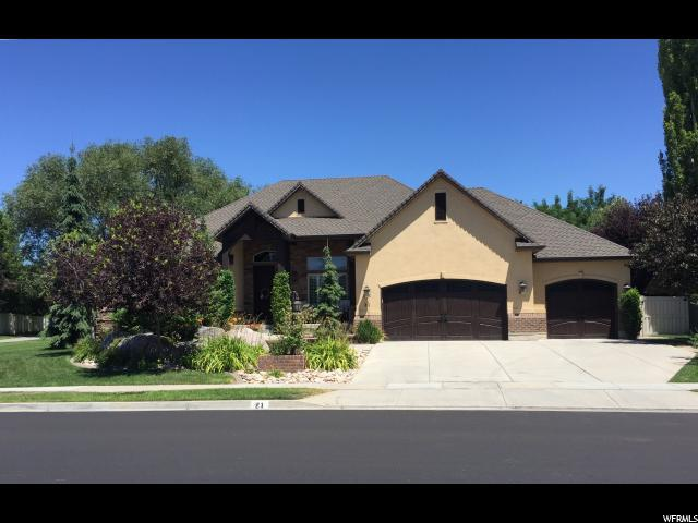 21 S Shadow Breeze Rd W, Kaysville, UT 84037 (#1621411) :: Colemere Realty Associates
