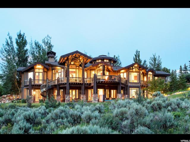 7002 Lupine Dr, Park City, UT 84098 (#1621527) :: The Canovo Group