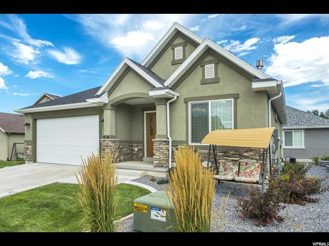 8116 N Quarter Mile Dr, Eagle Mountain, UT 84005 (#1621863) :: The Fields Team