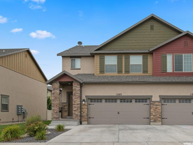 1303 N Silvercrest Dr, Saratoga Springs, UT 84043 (#1622215) :: RE/MAX Equity