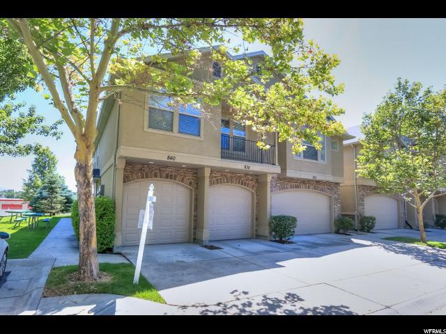 840 E Red Sage Ln, Murray, UT 84107 (#1622231) :: Colemere Realty Associates