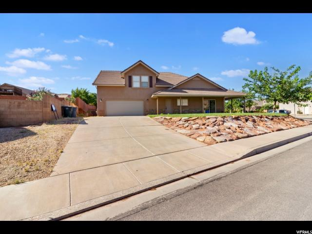 1579 S Azure Ridge, Washington, UT 84780 (#1622711) :: Colemere Realty Associates