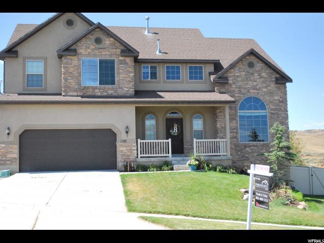 1551 S Rocky Ridge Ct, Saratoga Springs, UT 84045 (#1622815) :: Exit Realty Success