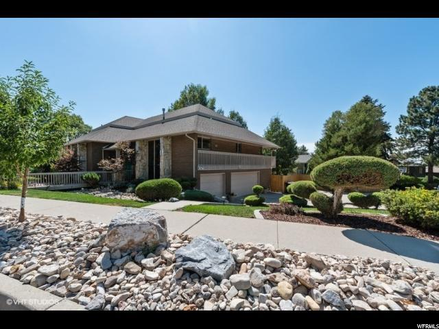 8480 S Top Of The World Dr E, Cottonwood Heights, UT 84121 (#1623112) :: Action Team Realty