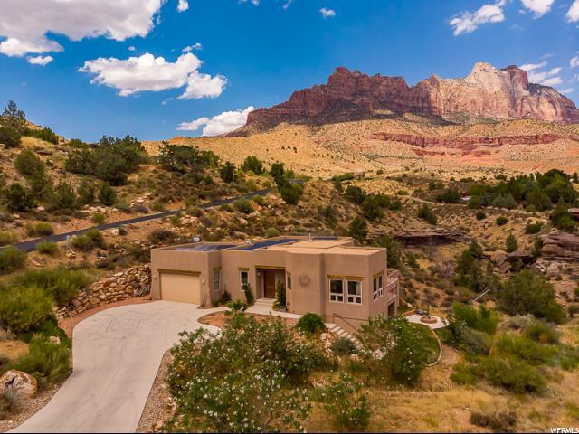 76 Valley View Dr, Springdale, UT 84767 (#1623397) :: Colemere Realty Associates