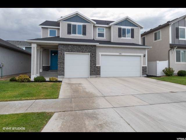 481 E Rue Cournot, Vineyard, UT 84058 (#1630135) :: Big Key Real Estate