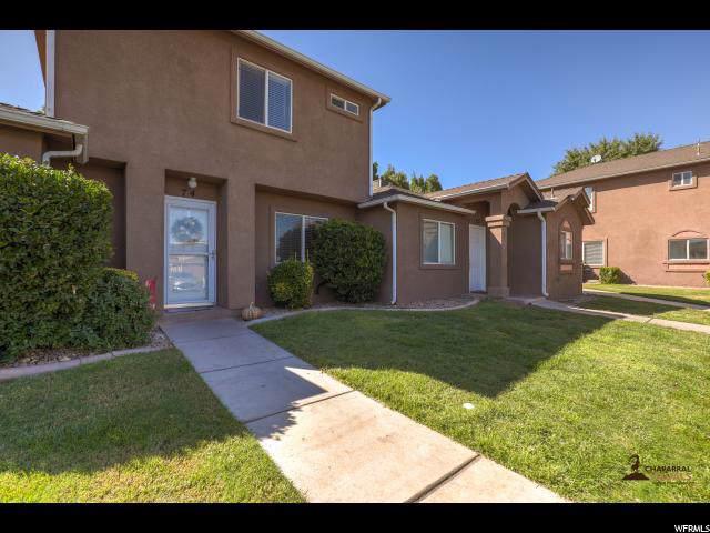 444 Sunland Dr #74, St. George, UT 84790 (#1630709) :: Big Key Real Estate