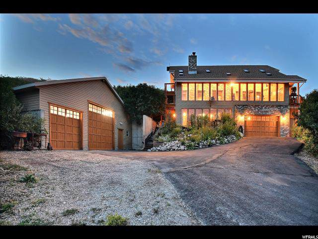 1540 W Bradbury Canyon Ln, Hoytsville, UT 84017 (#1630848) :: Red Sign Team