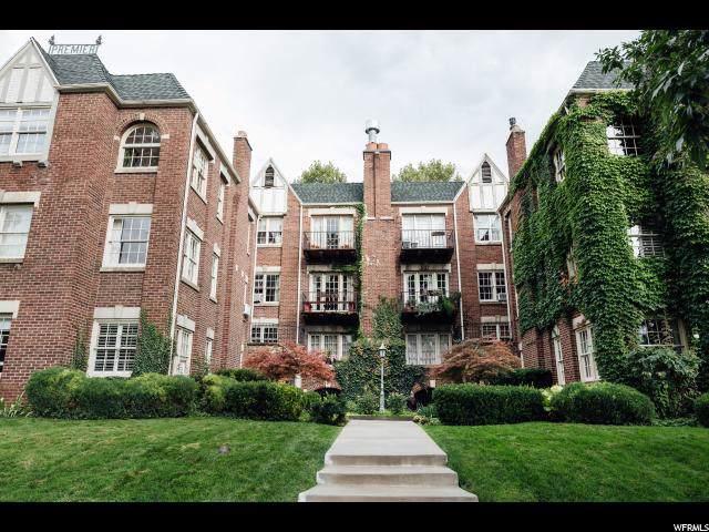 27 S 800 E #17, Salt Lake City, UT 84102 (MLS #1630980) :: Lawson Real Estate Team - Engel & Völkers