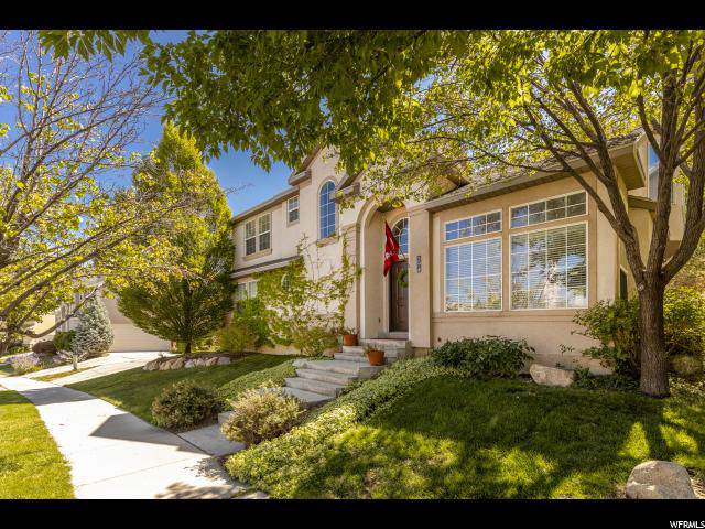594 E Rocky Mouth Ln S, Draper, UT 84020 (#1631005) :: Von Perry | iPro Realty Network