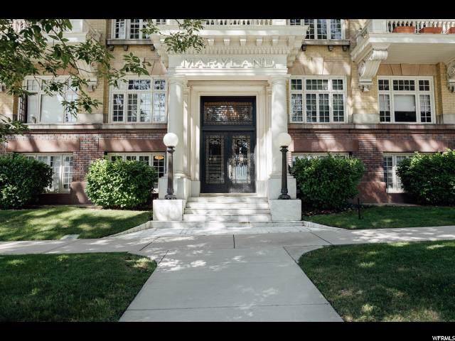 839 E South Temple #104, Salt Lake City, UT 84102 (MLS #1631069) :: Lawson Real Estate Team - Engel & Völkers