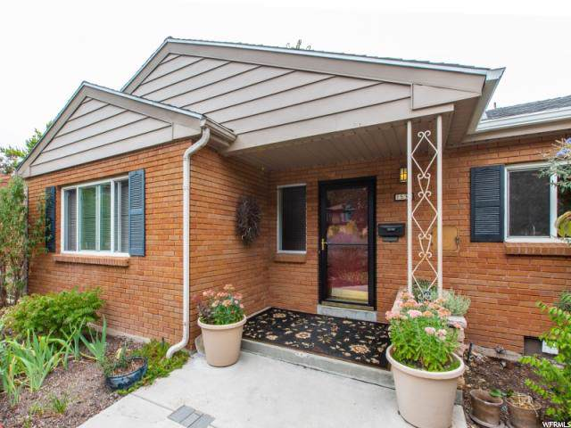 1538 S Wasatch Dr E, Salt Lake City, UT 84108 (MLS #1631104) :: Lookout Real Estate Group