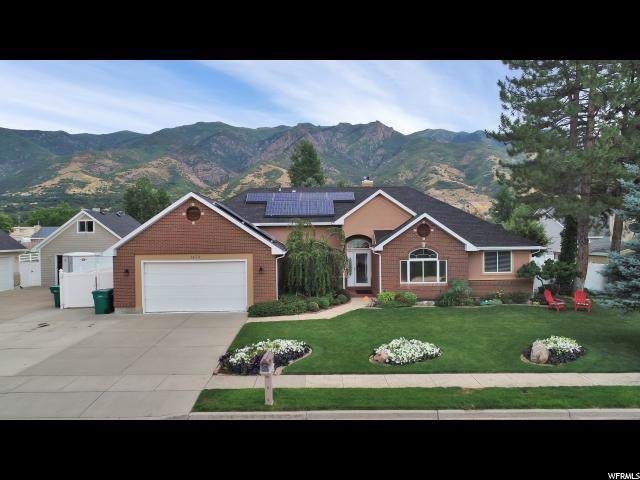 1472 N Evergreen Ln, Layton, UT 84040 (#1631267) :: Exit Realty Success