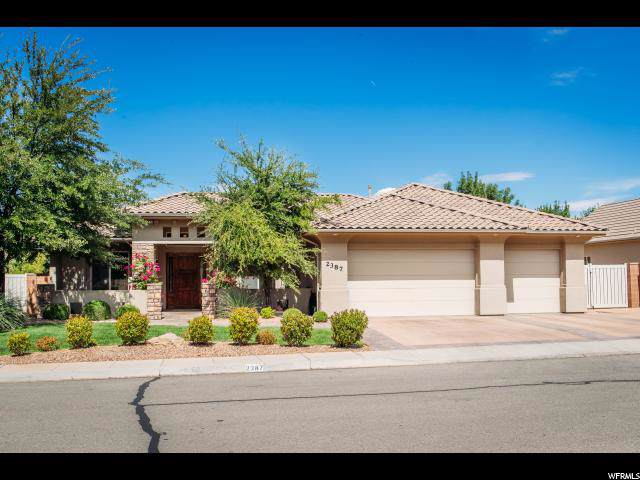 2387 E 2830 S, St. George, UT 84790 (#1631610) :: RE/MAX Equity