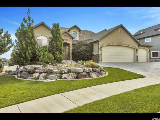 14711 S Evening Side Dr W, Herriman, UT 84096 (#1631676) :: Big Key Real Estate