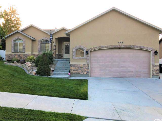 14406 S Logan Falls Ln W, Herriman, UT 84096 (#1631705) :: Big Key Real Estate