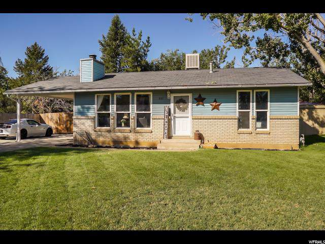 650 N 825 W, Clearfield, UT 84015 (#1631789) :: RE/MAX Equity