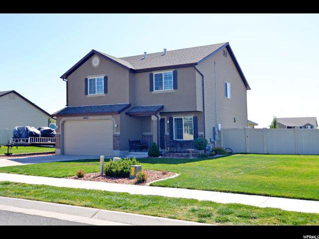 4483 W 5900 S, Hooper, UT 84315 (#1631804) :: Colemere Realty Associates