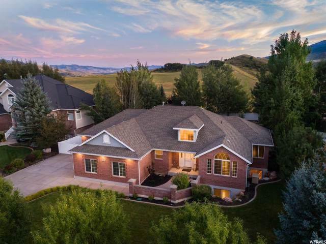 5237 W Rendezvous Rd, Mountain Green, UT 84050 (#1631929) :: Big Key Real Estate