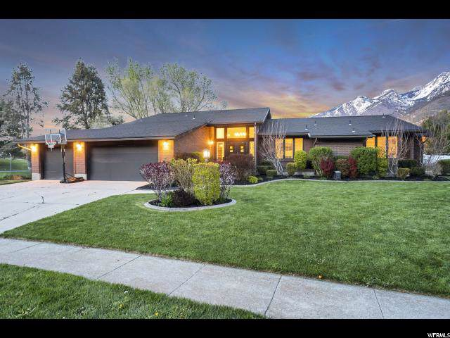 12155 S Mountain Shadow Rd E, Sandy, UT 84092 (#1631937) :: Big Key Real Estate