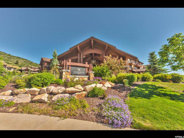 2100 W Frostwood Blvd #7121, Park City, UT 84098 (#1631988) :: Doxey Real Estate Group
