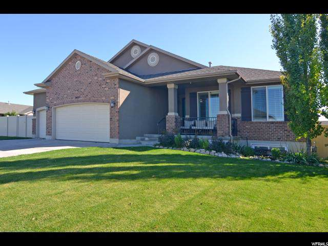 4405 W 5900 S, Hooper, UT 84315 (#1632230) :: Colemere Realty Associates