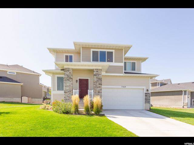 7569 N Evans Ranch Dr, Eagle Mountain, UT 84005 (#1632627) :: Colemere Realty Associates